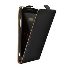 Slim Nera Flip Case Cover Custodia per LG G5 (+2 PELLICOLE)