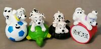 RARE---LOT of 4--Vintage TODDLER HEAVY Walt Disney's 101 Dalmation Figurines