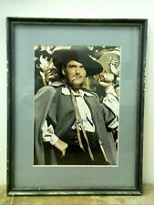 DOUGLAS FAIRBANKS SIGNED COLOR PHOTOGRAPH, MOVIE STAR, IN MATTED FRAME