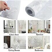 3D Window Glass Film Sticker Frosted Sunshade Thermal Self Adhesive Stickers