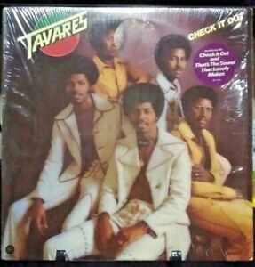 TAVARES Check It Out Album Released 1974 Vinyl/Record Collection USA