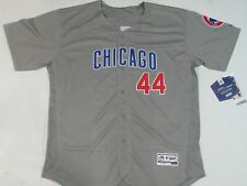 New Anthony Rizzo #44 Chicago Cubs Flex Base Men's Jersey Gray