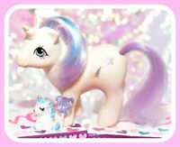 ❤️My Little Pony MLP G1 Vtg 1984 BABY Glory Play 'n Care Shooting Star❤️