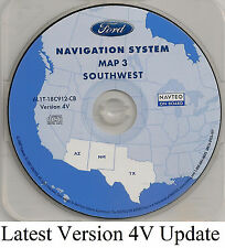 2003 2004 2005 2006 Ford Expedition Navigation CD Map #3 Cover AZ NM TX