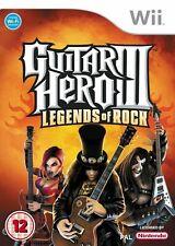 Guitar Hero 3 | Legends of Rock | Nintendo Wii (& Wii U) - Fast & Free
