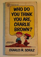 Who Do You Think You Are, Charlie Brown: Selected Cartoons from Peanuts Vol. #1