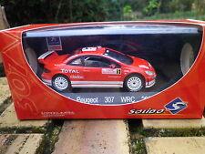 SOLIDO EDITION LIMITEE PEUGEOT 307 WRC MONTE CARLO 2004 état Neuf en boite