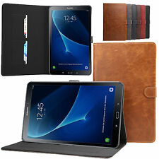For Samsung Galaxy Tab A 10.1 T580 T585 Folio Flip PU Leather Wallet Case Cover