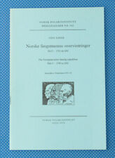 The Norwegian Winter Hunting Expeditions | Part I | 1795-1892 | Buch |