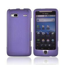 Hard Rubberized Case for HTC T-Mobile G2 - Purple
