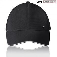 CAP Hat Formula One 1 Team McLaren Lifestyle F1 NEW Black Swoosh Logo Badge