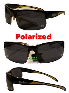 NFL Pittsburgh Steelers Polarized Wrap Sunglasses UV 400- New