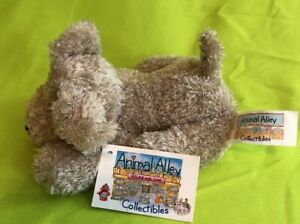 """TOYS R US ANIMAL ALLEY COLLECTIBLES Plush 6"""" Stuffed Animal Bean Bag  dog puppy"""
