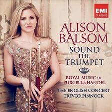 PURCELL/HANDEL ALISON BALSOM Sound The Trumpet CD NEW Warner Classics