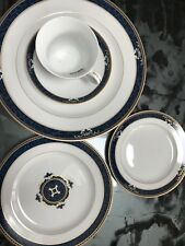WEDGWOOD Embassy CHADWICK 5 pc Place Setting dinner,salad,BB, saucer, cup (A)