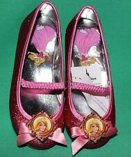 DISNEY PARK PRINCESS AURORA SHOES SIZE 11/12  NEW DISNEY SLEEPING BEAUTY COSTUME