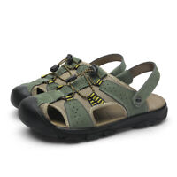 39129699b93 UK 15 Large Size Mens Closed Toe Sandals Trekking Hiking Travel Beach  Slippers