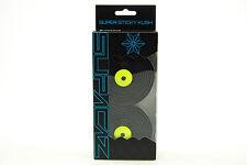 Supacaz Super Sticky Kush Road Bike Handlebar Tape, Galaxy Neon Yellow/Black