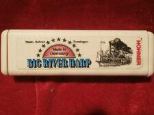 Vintage 60er años armónica m. Hohner Big River harp MS C coleccionista rar