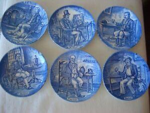 6 WEDGWOOD Porzellan Zierteller Sammelteller Untersetzer Neu