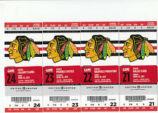 1 CHICAGO BLACKHAWKS VS CALGARY FLAMES TICKET STUB 4/26/13 KANE TOEWS GOAL
