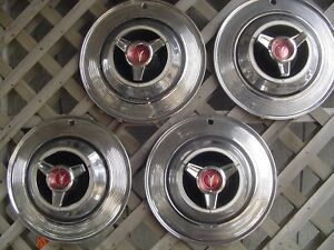 1964 PLYMOUTH FURY SAVOR GTX RD RUNNER BELVEDERE SATELLITE HUBCAPS WHEEL COVERS
