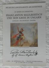 Plakat Poster - Ausstellung - Franz Anton Maulbertsch - Barock Klassizismus