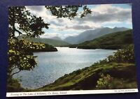 POSTCARD: EVENING ON THE LAKES OF KILLARNEY: CO. KERRY: IRELAND: UN POSTED