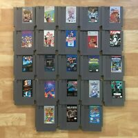 Lot of 23 Nintendo Entertainment System NES Games | Great Condition | Used | C09