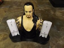 WWE Undertaker Dual Charging Station with batteries Wii Tested Rare Collectable!