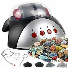 New listing Rock Tumbler Activity Kit, Fun Artwork Handmade Diy Toy Set Polished Stones New