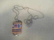SUPER BOWL XL DETROIT February 5, 2006 Dog Tag and Chain I WAS THERE Steelers