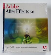 NEW & SEALED Adobe After Effects 5.0 User Guide Manual Book