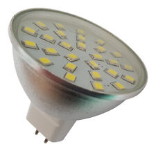 4 X MR16 27 SMD LED 12 V (10 ~ 30 V DC/10 ~ 18 V corriente alterna) 420 LM 4 W Bombillas Blanco ~ 50 W