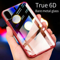 Luxury Shockproof 6D Tempered Glass Case Cover For Apple iPhone 78 X XS MAX XR