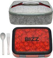 Bento Box Lunchbox & Bag Set w/utensils, Removable Microwaveable Dishwasher Safe