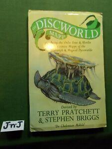 TERRY PRATCHETT & STEPHEN BRIGGS THE DISCWORLD MAPP FIRST EDITION 1995