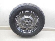 86-16 Suzuki Boulevard LS650 S40 Dritto Ruota Post Cerchio W Buono Pneumatici