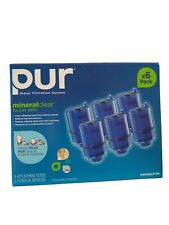 Lot of 6 PUR Mineralclear Faucet Water Filter Refill rf-9999 Mineral Clear