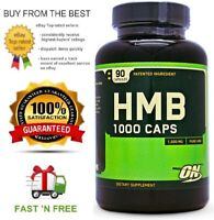 OPTIMUM NUTRITION HMB 90C INCREASE LEAN MUSCLE GAINS + FREE SHIPPING