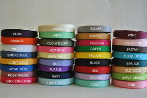 """Wholesale Grosgrain Ribbon lot 1/4"""" 5 yards you pick color for hair bow"""