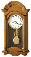 Howard Miller 625-282 (625282)  Amanda Dual-Chime Wall Clock, Golden Oak