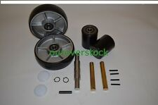 Crown PTH50 Pallet Jack Complete Wheel Kit (Includes All Parts Shown)