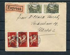 Expressbrief Schweiz Mi.-Nr. 146+147 MiF Bern-Zürich - b4998