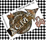 ACME  STICKER RAT PATINA x1  BY VOODOO STREET™ GLOBAL INDUSTRIES. LTD EDITION !
