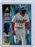 KENNY LOFTON 1995 PINNACLE WHITE HOT INSERT CARD #WH21 INDIANS