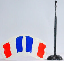 Timpo Original 1776 French Tricolor Flag, Flagpole and Base - 3 pieces