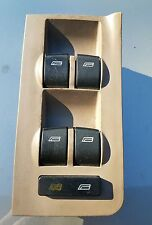 01-04 AUDI A6 S6 RS6 FRONT DRIVER SIDE LH MASTER WINDOW CONTROL SWITCH 4B0959851