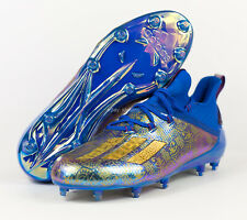 Adidas Adizero Young King Football Cleats ( Men's Size 13 ) Blue Gold EF7934