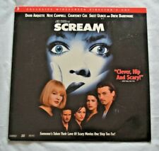 Scream Exclusive Widescreen Directors Cut Laserdisc Horror Movie - FREE SHIPPING